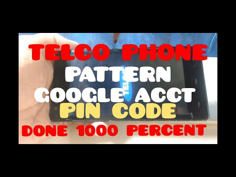 TELCO PHONE MADE IN CHINA PATTERN PIN CODE PASSWORD GOOGLE ACCONT FRP 100 PERCENT DONE BY OCTOPUS