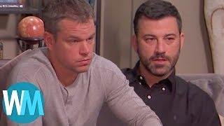 Top 10 Jimmy Kimmel Vs. Matt Damon Moments | Kholo.pk