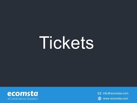 Tickets - eCommerce Script