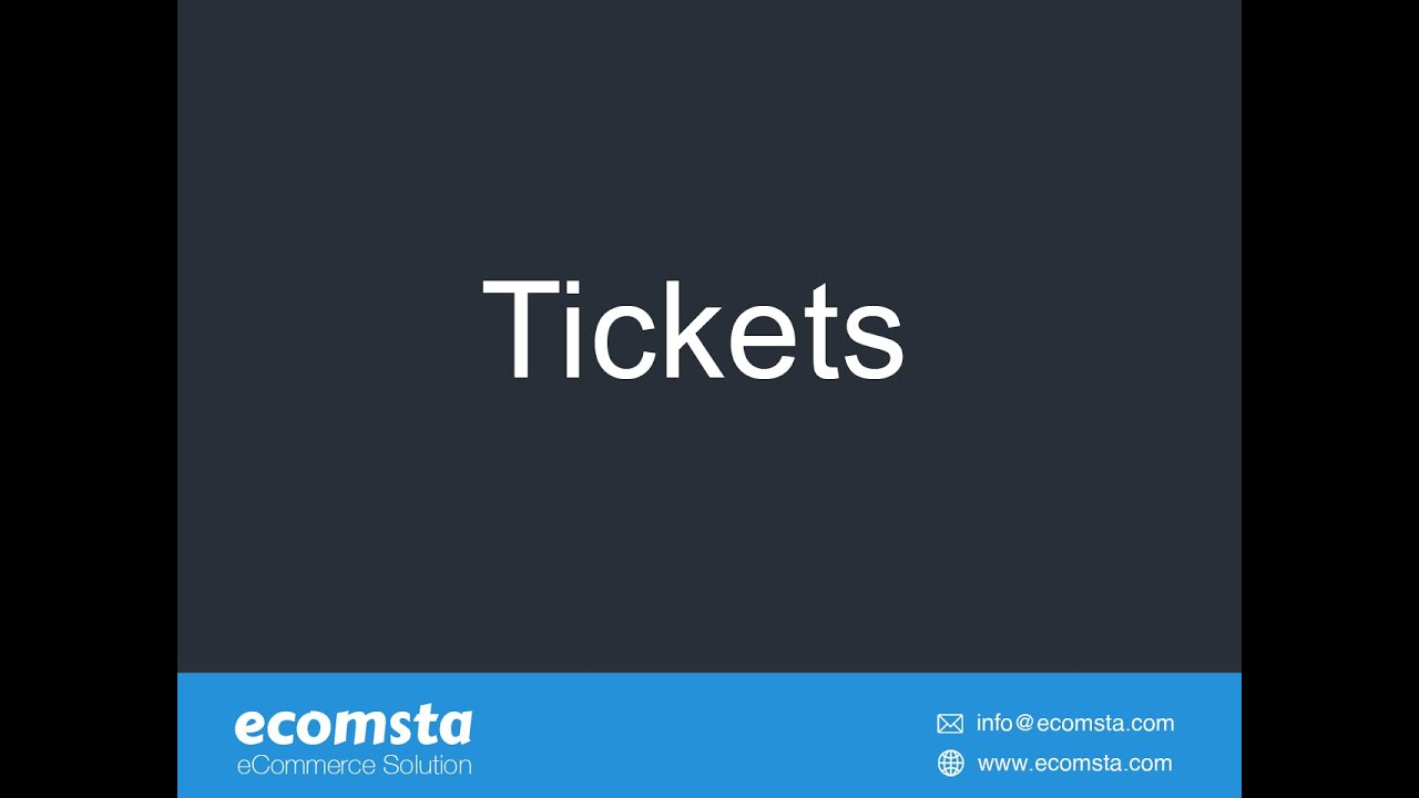 What is our ticketing system and how does it work?