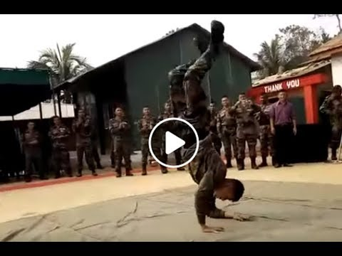 Stunning Dance Performance By Indian Army Soldier Dipesh Thapa