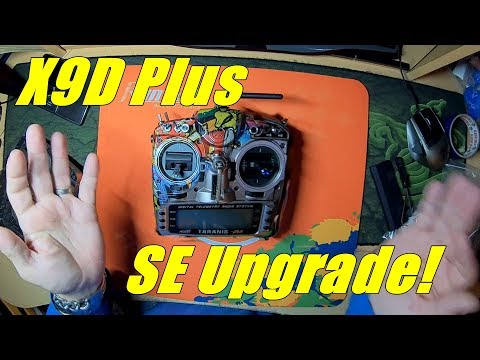 Taranis X9D Plus SE Upgrade/Installation Guide