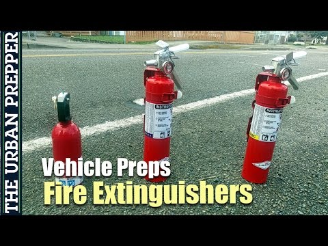 Fire Extinguishers: Types, Mounting & Demo (Vehicle Preps)