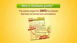 How to Use Gravity to Select the Best ClickBank Products