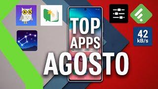 TOP APLICACIONES AGOSTO - ¡Las mejores APPS GRATIS para tu teléfono!