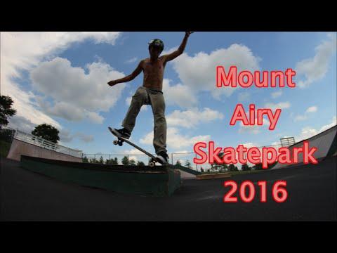 Mount airy Skatepark 2016