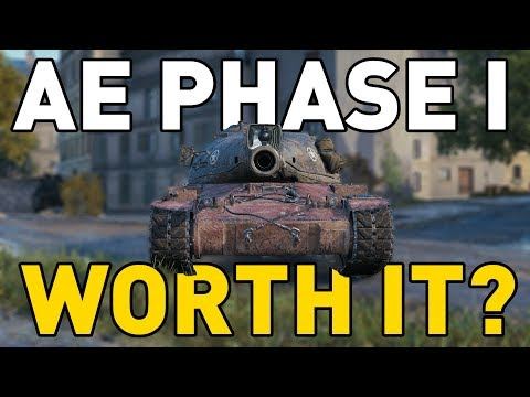 Is the AE Phase I Worth It in World of Tanks?