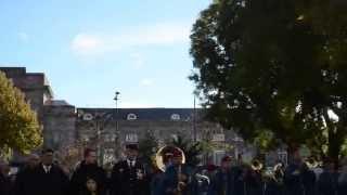preview picture of video 'Mulhouse commémoration du 70 ème anniversaire  /  16 novembre 2014'