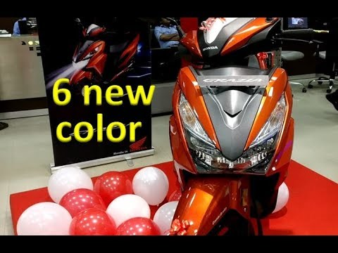 HONDA Grazia | 125 cc scooter |  All features Review | All 6 colours | Honda Activa killer?