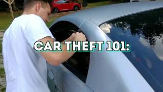 How To Break Into A Mustang [Tutorial]