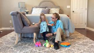 #104 Getting down from Standing: Exercises for a Baby with Low Tone