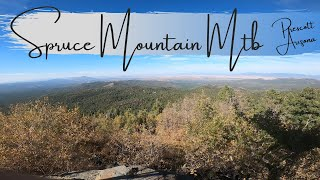 Smith Ravine to the top of Spruce Mountain