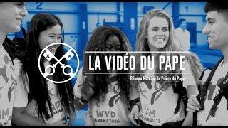"""""""LA VIDÉO DU PAPE"""": janvier 2019 Les jeunes à l'école de Marie"""