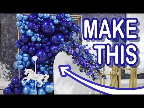 Balloon Wall Class | DIY How to Tutorial with Eve