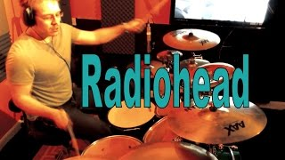 Radiohead - Jigsaw Falling Into Place - Drum Cover - MikePlaysDrums.co.uk