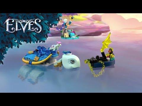 Vidéo LEGO Elves 41191 : Naida et le piège de la tortue d'eau