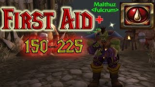 WoW First Aid Tutorial #1 - Skill 150 - 225 (horde)