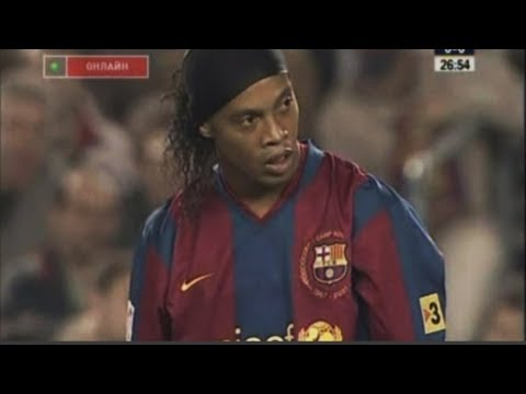 Ronaldinho Show vs Real Betis 2007-2008 [by nitter]
