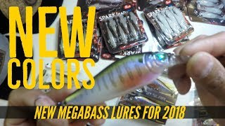 New Megabass Lures for 2018 February Mail Call