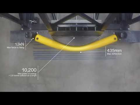 Pendulum test: eFlex Single Traffic Barrier
