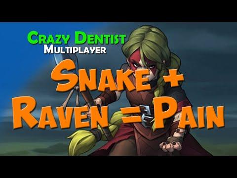 Snake + Raven = Pain | Snake clan in 3v3 | Northgard