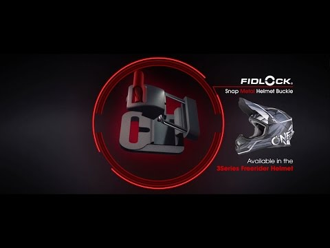 Oneal 3Series Freerider Fidlock Crosshelm schwarz grau mit TWO-X Race Crossbrille Video