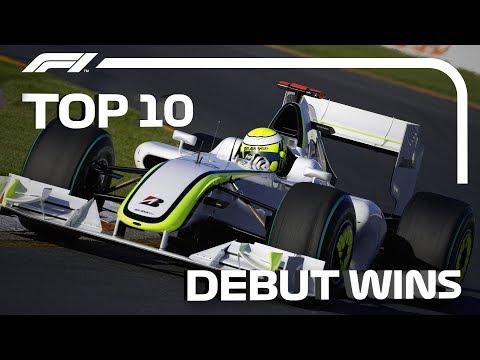Top 10 Debut Wins In F1