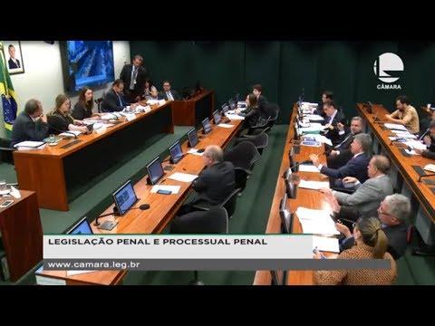 Legislação Penal e Processual Penal - Discussão e votação do parecer do relator - 22/08/19