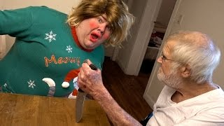 ANGRY GRANDPA HATES SHANNON!!