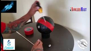 DIY Practice Bowling Ball