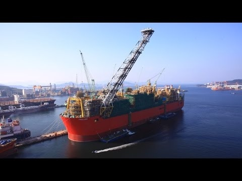 Watch: Prelude FLNG Project in 2016