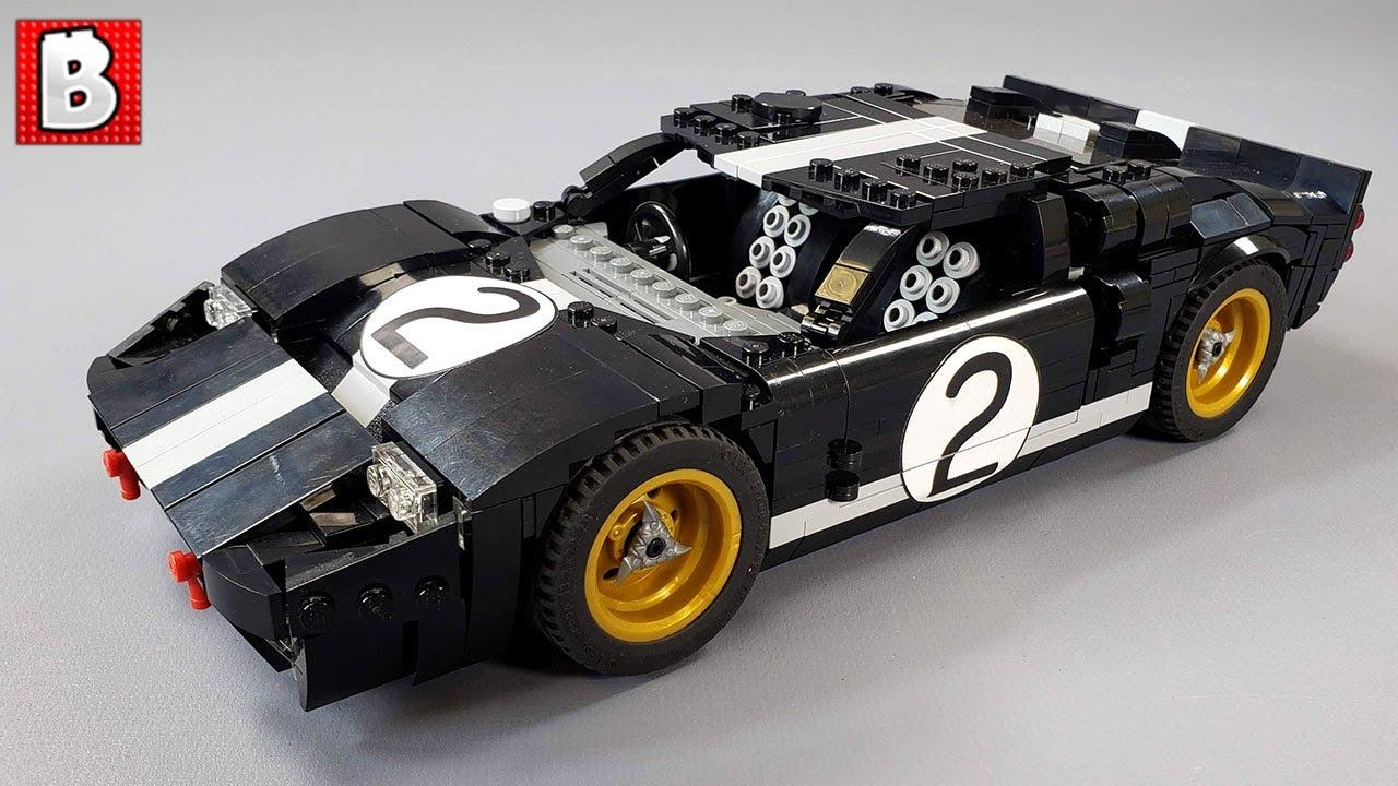 LEGO GT40 Mk. II Custom Build | Le Mans Winner 1966!