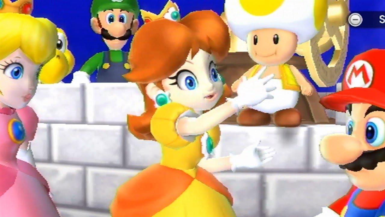 Mario Party 9◇Solo Mode #100 Daisy◇Toad Road - YouTube