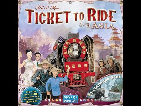 Ticket to Ride: Legendary Asia - A Forensic Gameology Review