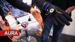 Aura is a drone you fly with hand gestures