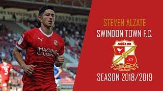 Steven Alzate | Goals, Skills, Assists | Swindon Town F.C. | Senior | 2018/2019