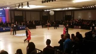 Shayna Shpits & Peter Moiseyev - Samba @ USA DANCE National DanceSport Championships 2017