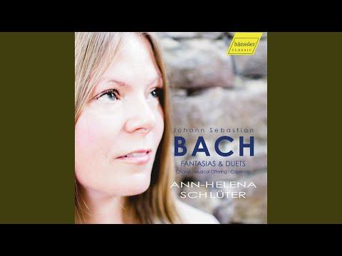 Gott heiliger Geist, BWV 674 (Arr. for Piano)