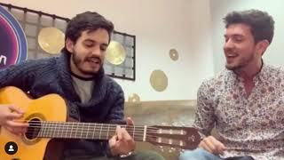 Carlos Right (OT2018)  Y Juan Pablo Villamil (Morat) Cantan 'Se Te Nota' | Eurovision 2019