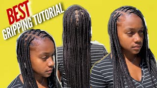 Why Are My Knotless Box Braids Loose At The Root?| Best Beginner Gripping Tutorial
