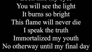 Falling in Reverse - Don't Mess With Ouija Boards (Lyrics)