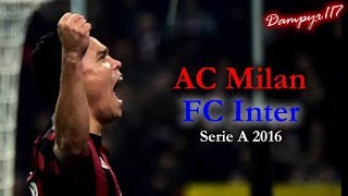 Milan   Inter 3 0 (SANDRO PICCININI) 20152016