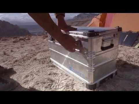 ZARGES K 424 XC. Die mobile Alubox für jedes Gelände.
