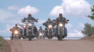 Bikers come to 5-year-old bullied girl's rescue