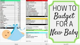 HOW TO BUDGET FOR A NEW BABY   Maternity Leave   Birth   Baby Items