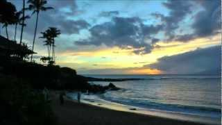 preview picture of video 'Time lapse sunset at Kapalua Bay Beach in Maui, Hawaii'