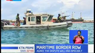 KENYA-SOMALIA ROW: Uhuru, Farmajo agree on ending maritime dispute amicably