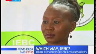 MPs want the three other IEBC commisioners to quit the office