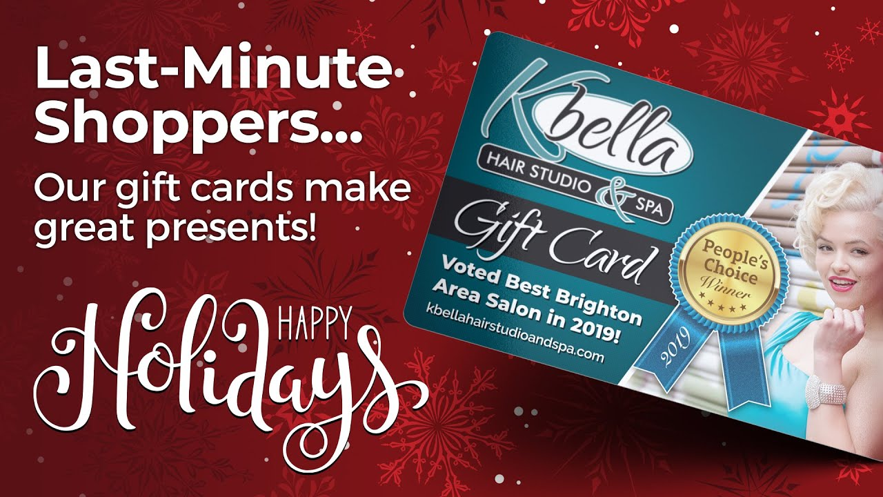 Our Gift Cards Make Great Presents!