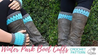 How To Crochet Boot Cuffs Step By Step Tutorial For Beginners